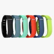 Fitbit Flex All Available Colors 3d model