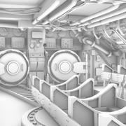 Submarine Interior 3d model