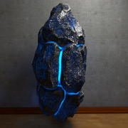 Glowing energy Stone 3 3d model
