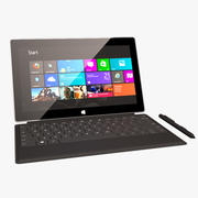 Microsoft Surface Pro 3d model