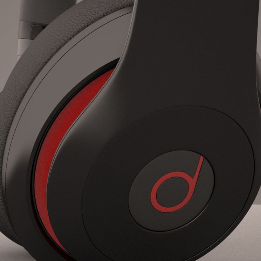 Monster Beats Audio by Dr Dre royalty-free 3d model - Preview no. 10