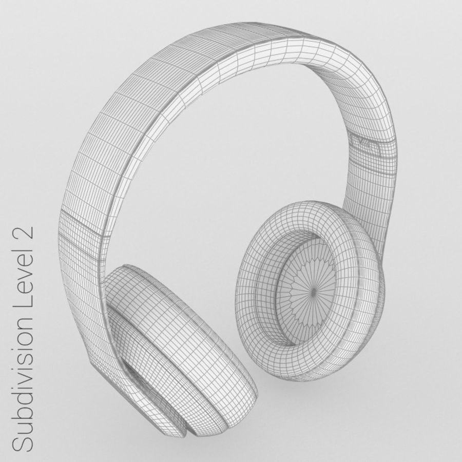 Monster Beats Audio by Dr Dre royalty-free 3d model - Preview no. 14