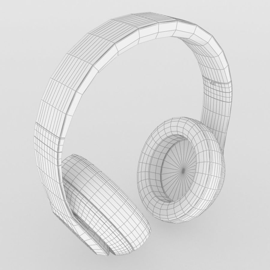 Monster Beats Audio by Dr Dre royalty-free 3d model - Preview no. 13