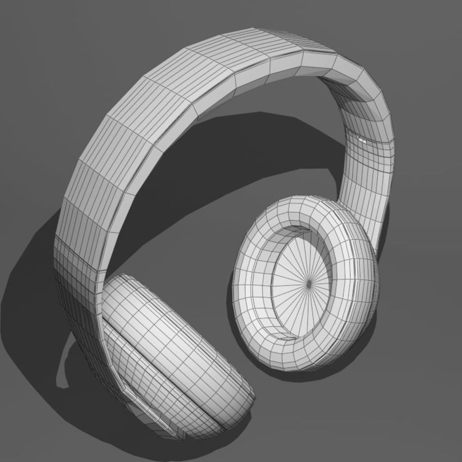 Monster Beats Audio by Dr Dre royalty-free 3d model - Preview no. 11