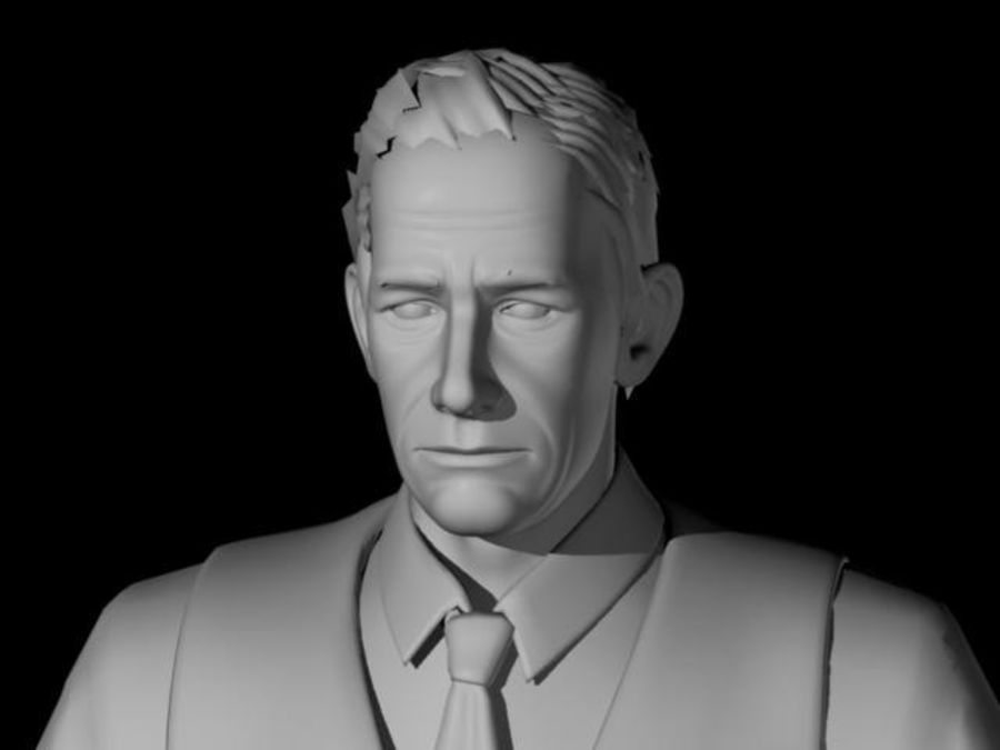 Modello 3D Man royalty-free 3d model - Preview no. 13
