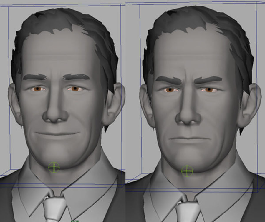 Modello 3D Man royalty-free 3d model - Preview no. 7