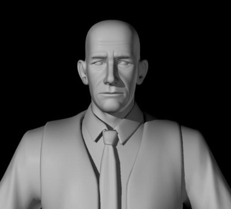 Modello 3D Man royalty-free 3d model - Preview no. 2