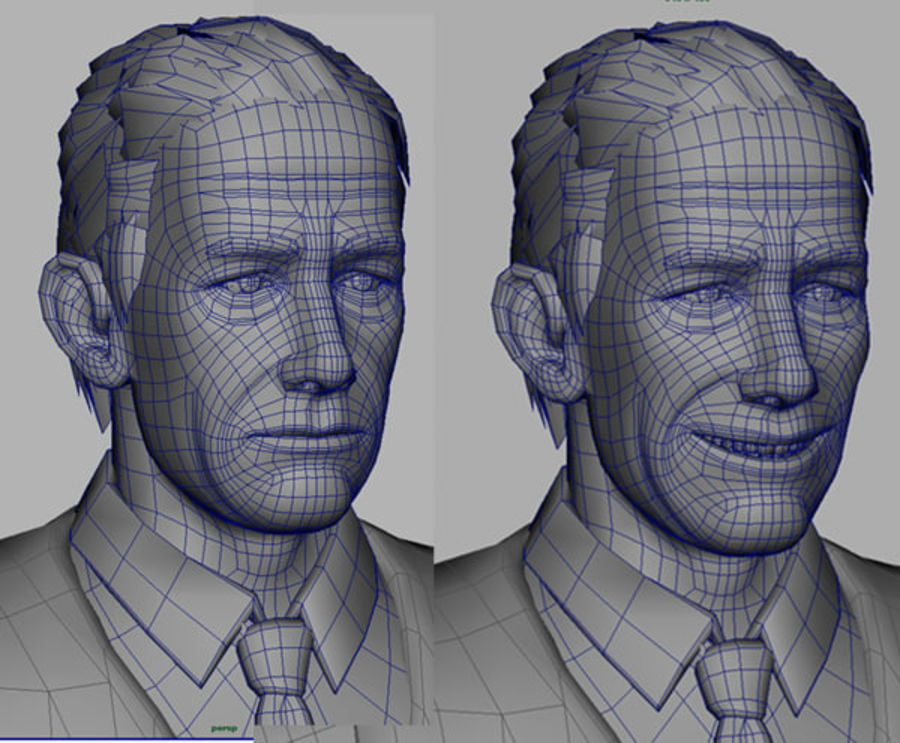 Modello 3D Man royalty-free 3d model - Preview no. 11