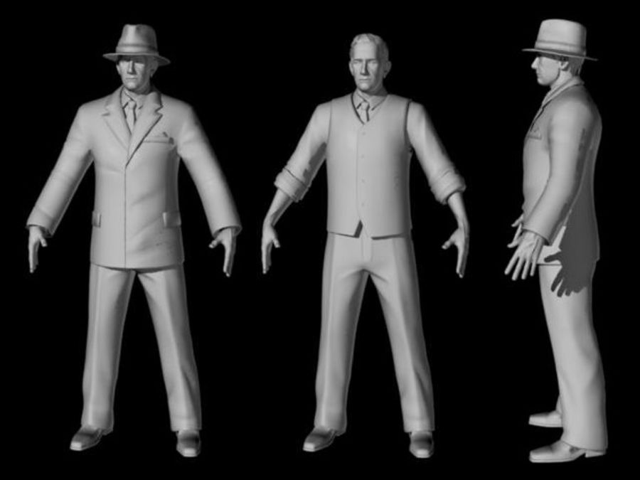 Modello 3D Man royalty-free 3d model - Preview no. 12