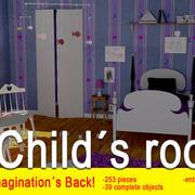 Child´s room 3d model