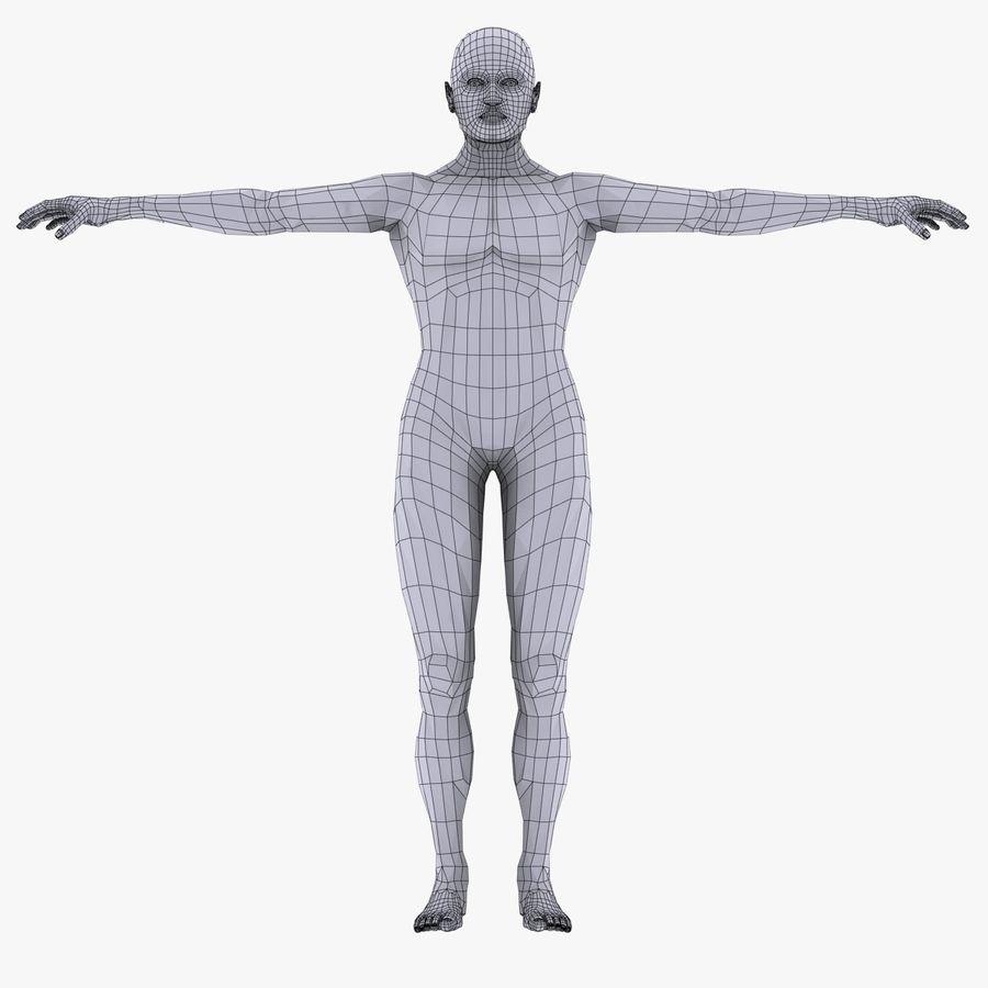 Human Internal Organ Xray royalty-free 3d model - Preview no. 15