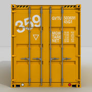 20 ft. Verzendcontainer 3d model