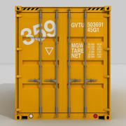 20 ft. Shipping Container 3d model