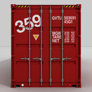 40 ft. Shipping Container 3d model