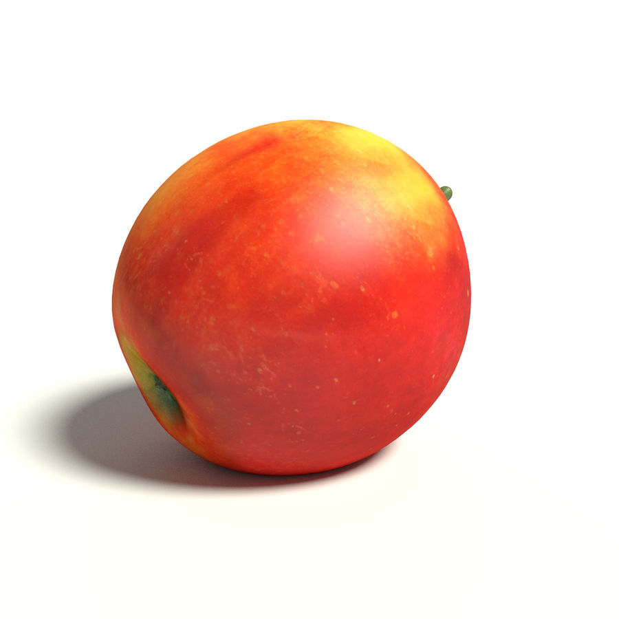 Apfel royalty-free 3d model - Preview no. 4