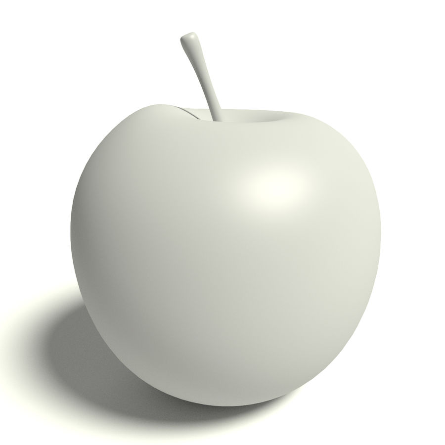 Apfel royalty-free 3d model - Preview no. 5