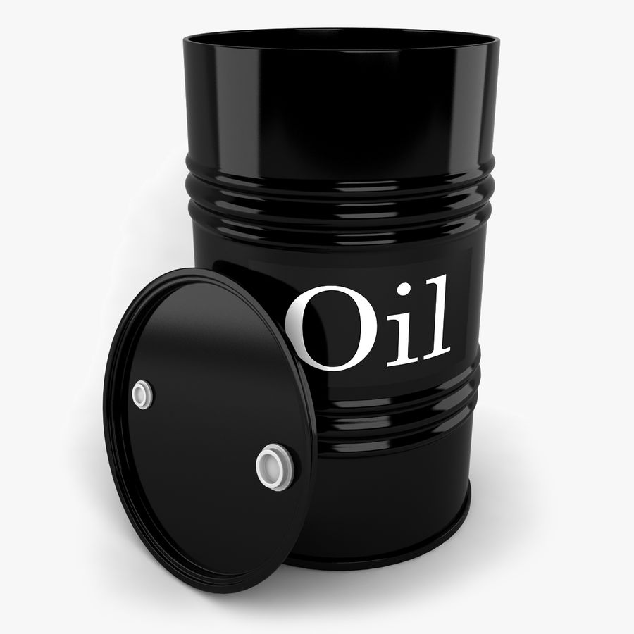 Oil Drum royalty-free 3d model - Preview no. 1
