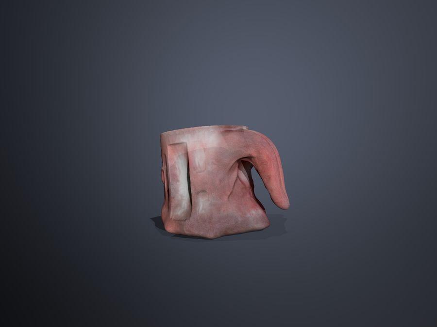 Tongue Mug royalty-free 3d model - Preview no. 4