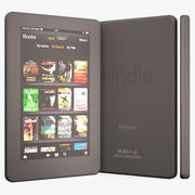 Amazon Kindle Fireタブレット 3d model