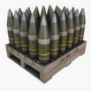 Artillery Shells 01 3d model