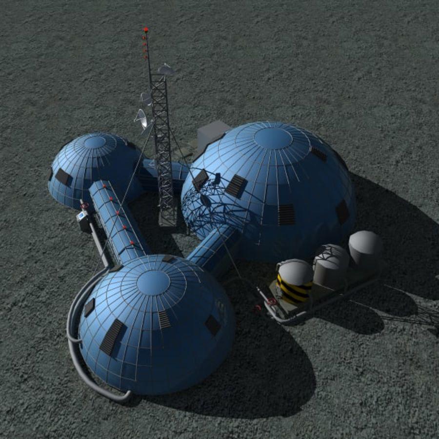 Estación Espacial royalty-free modelo 3d - Preview no. 3