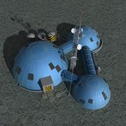 Station spatiale 3d model