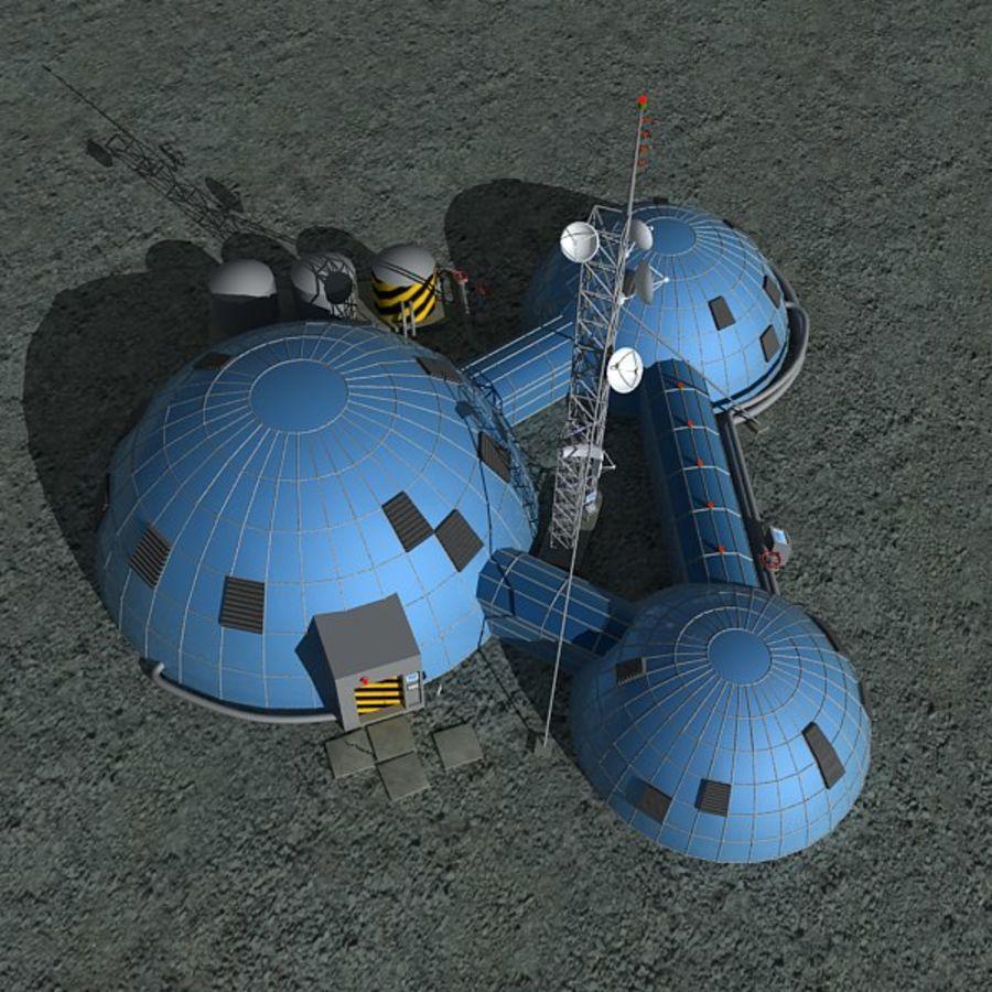 Estación Espacial royalty-free modelo 3d - Preview no. 1