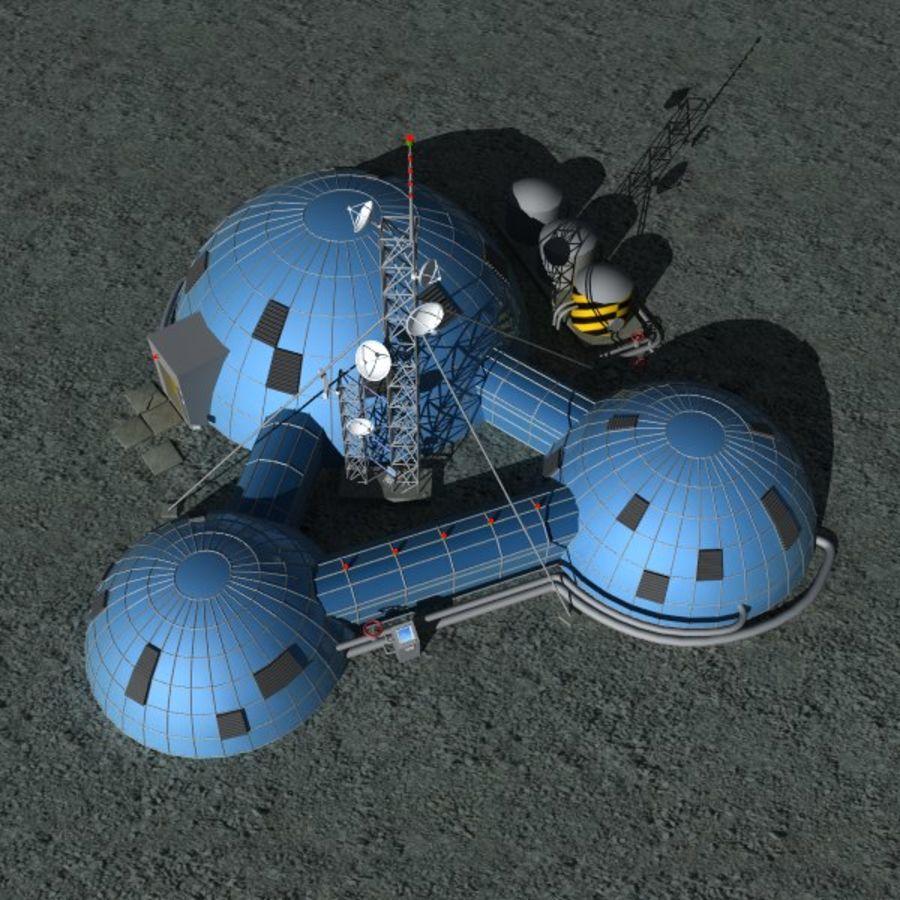 Estación Espacial royalty-free modelo 3d - Preview no. 2