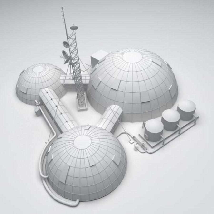 Estación Espacial royalty-free modelo 3d - Preview no. 7