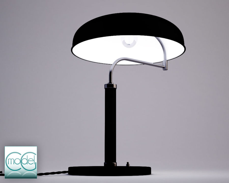 vintage lamp royalty-free 3d model - Preview no. 3