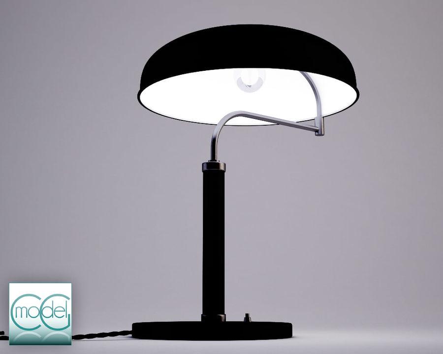 lâmpada vintage royalty-free 3d model - Preview no. 3