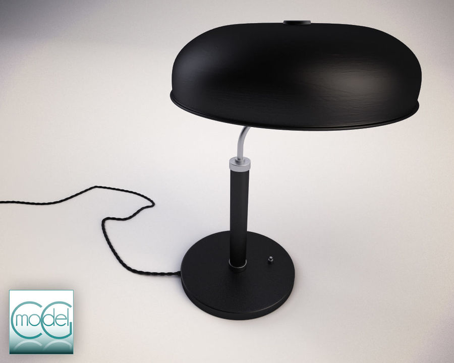 vintage lamp royalty-free 3d model - Preview no. 2