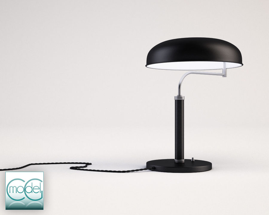 vintage lamp royalty-free 3d model - Preview no. 1