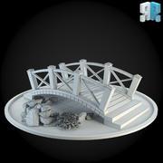 Pont 001 3d model