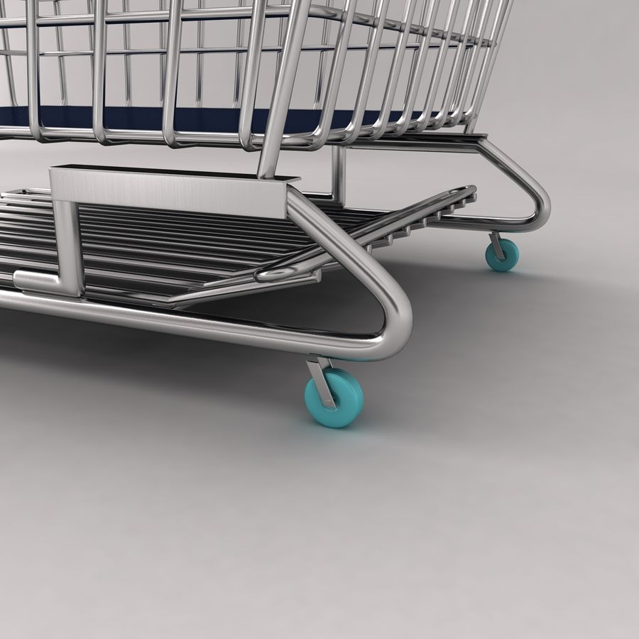 Trolly 2 royalty-free 3d model - Preview no. 5