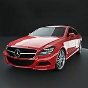Mrecedes cls 2012 3d model