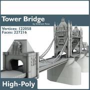 Puente de la torre - londres modelo 3d