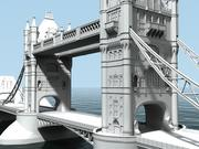 Tower Bridge - Londen 3d model