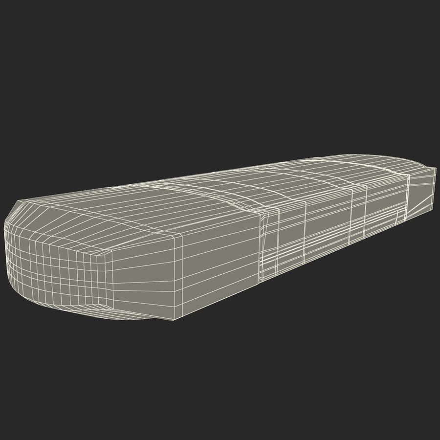 USB存储卡读卡器 royalty-free 3d model - Preview no. 39