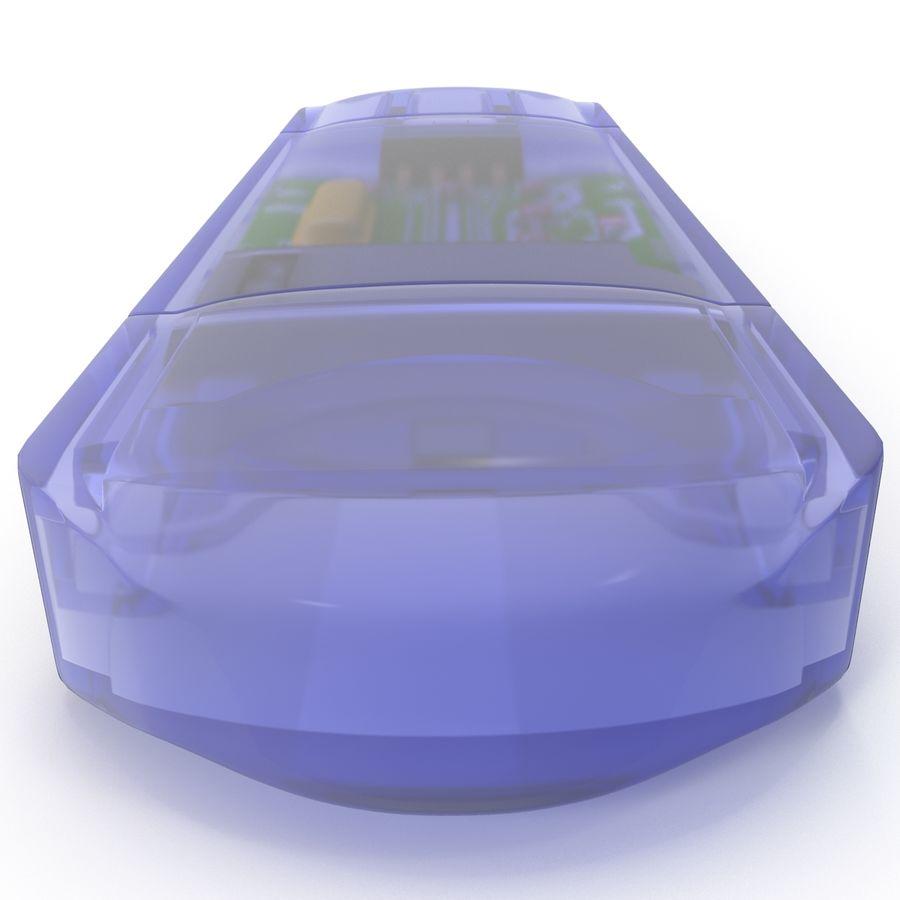 USB Memory card Reader royalty-free 3d model - Preview no. 5