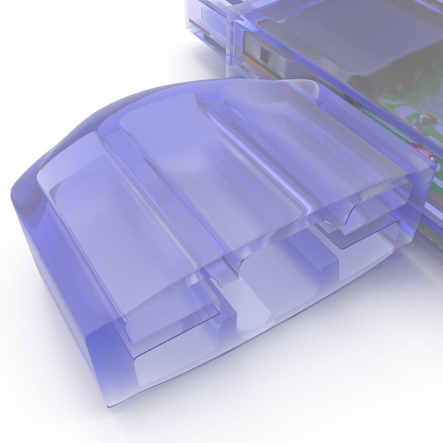 USB Memory card Reader royalty-free 3d model - Preview no. 18