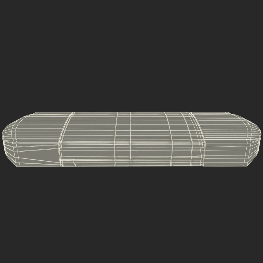 USB存储卡读卡器 royalty-free 3d model - Preview no. 26