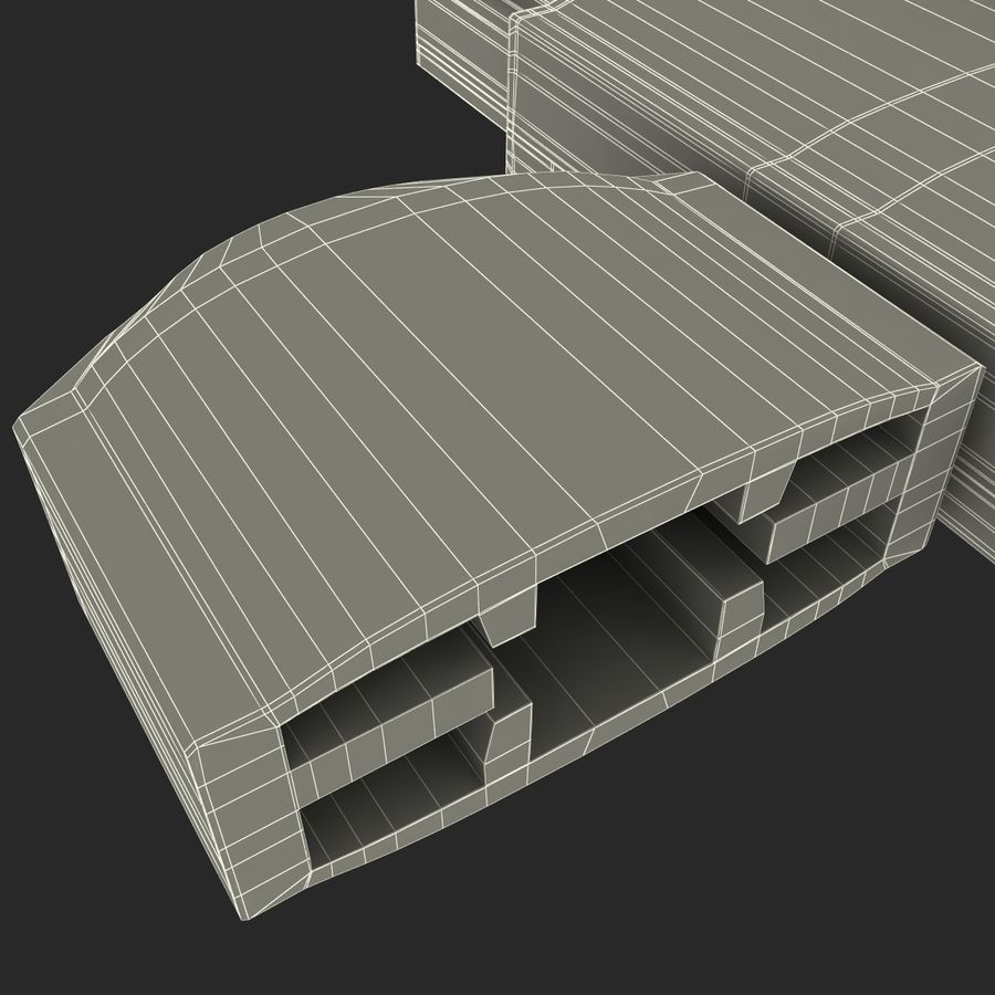 USB存储卡读卡器 royalty-free 3d model - Preview no. 37