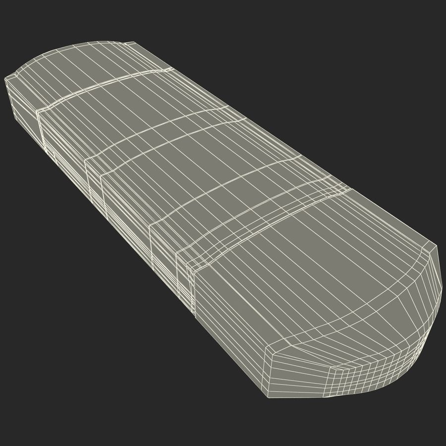 USB存储卡读卡器 royalty-free 3d model - Preview no. 38