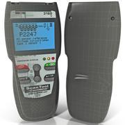 Profesjonalny skaner kodów diagnostycznych Equus 3160 3d model