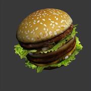 Sandwich Lowpoly 3d model