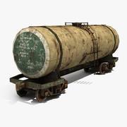 Железнодорожная цистерна 3d model
