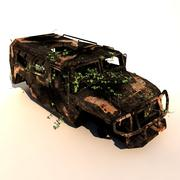 Wrecked Vehicle 3d model