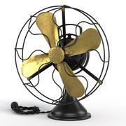 Fan Retro GE 3d model