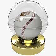 Gift for Dad Baseball Ball 2 3d model